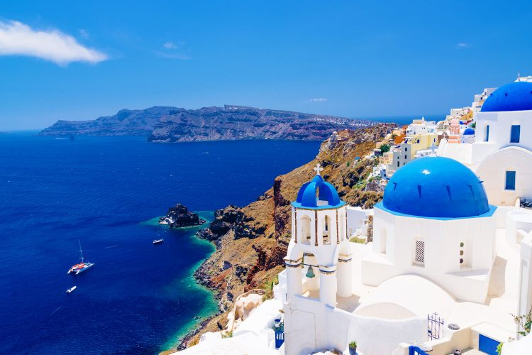 Santorin, Griechenland