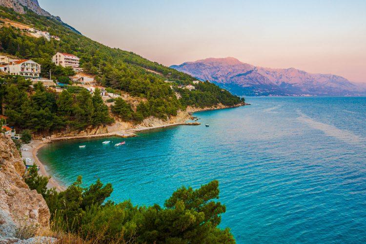 Küste von Kroatien