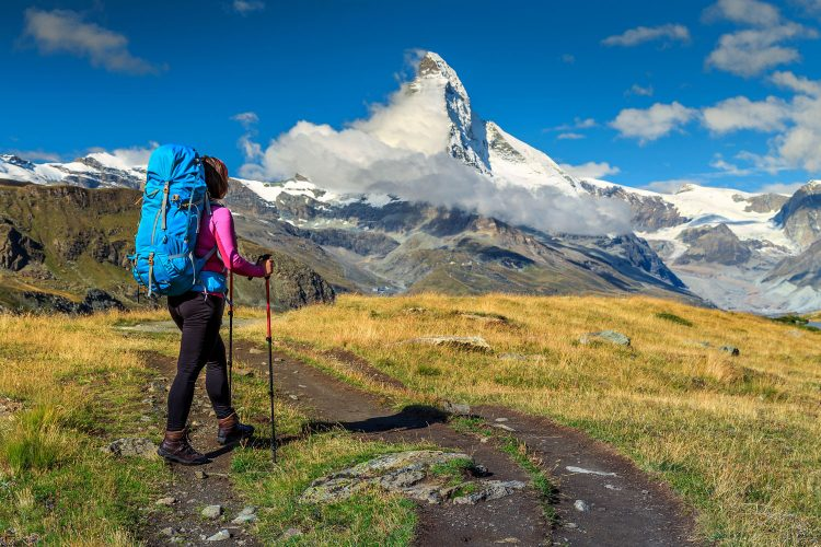 Ein guter Rucksack ist essentiell auf einer Trekking-Tour