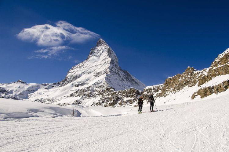 Für Tourengeher: Zermatt