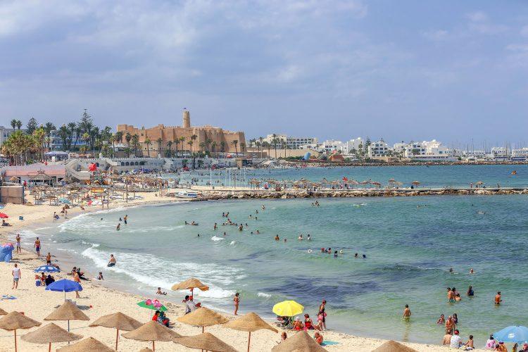 Strand von Monastir