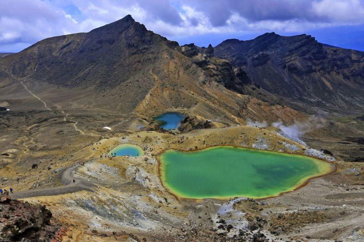 Emerald Lake im Tongariro Nationalpark