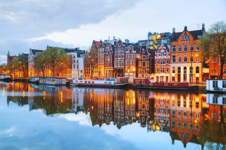 Häuser an der Amstel, Amsterdam