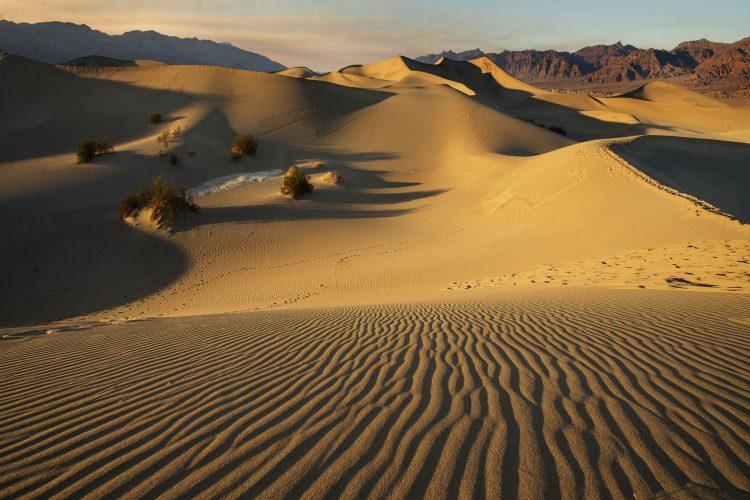 Sanddüne im Death Valley