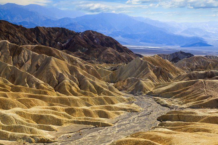 Faszinierende Landschaft im Death Valley Nationalpark