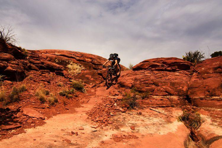 Moountainbiken in Moab