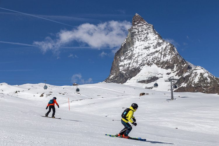 Traumhaftes Skigebiet rund um das Matterhorn