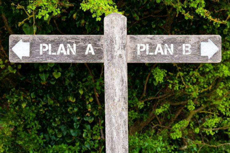 Keinen Plan B haben