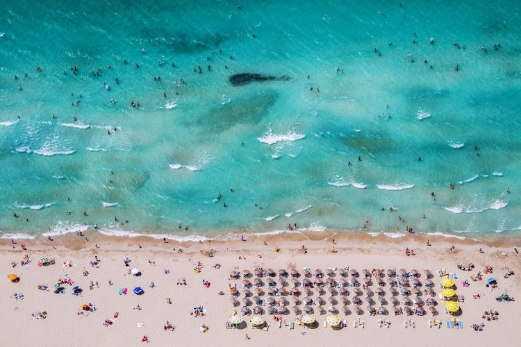 Strand an der türkischen Ägäis