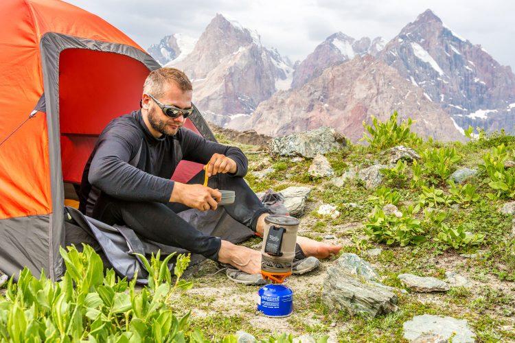Verpflegung beim Trekking