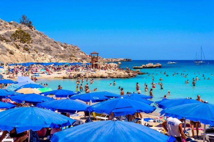Konnos Beach auf Zypern