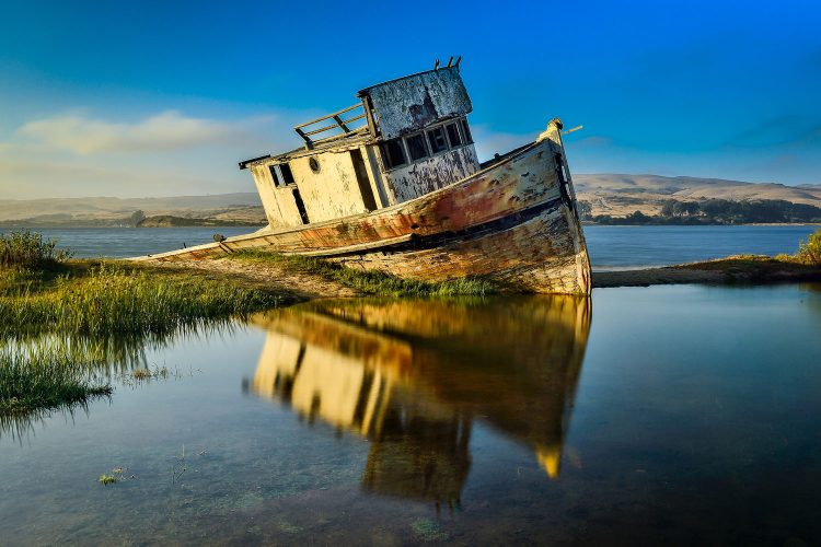 Beliebtes Fotomotiv die S. S. Point Reyes