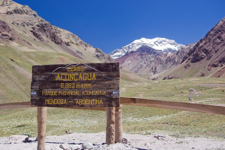 Aconcagua in Argentinien