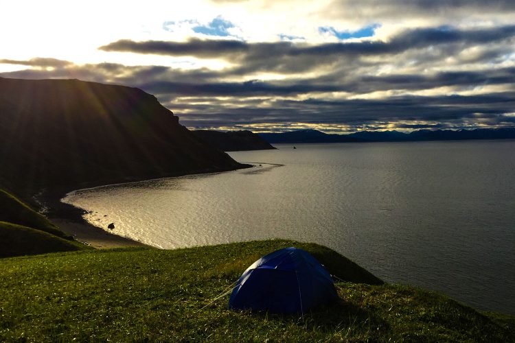 Camping auf den Aleuten