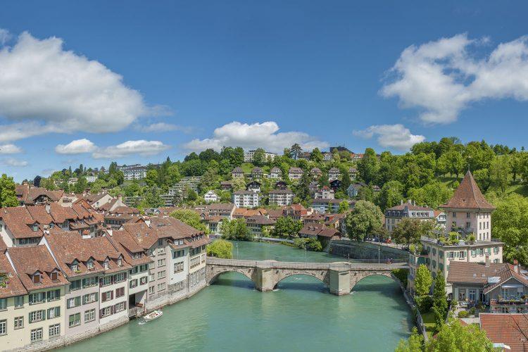 Brücke über die Aare in Bern