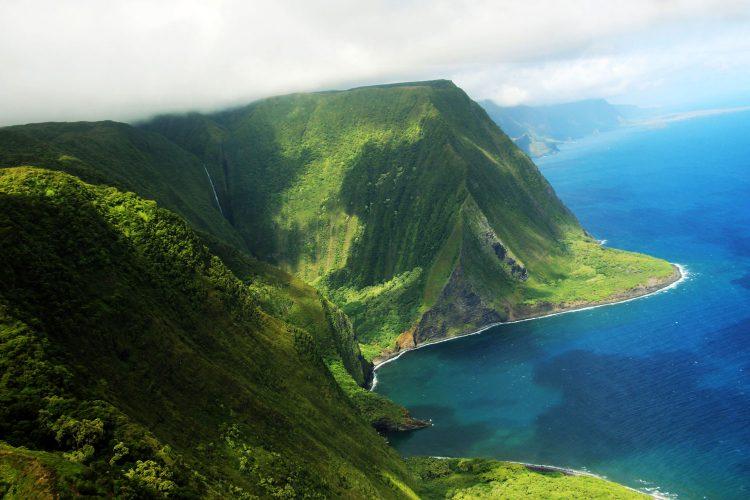 Meeresklippen auf Molokai