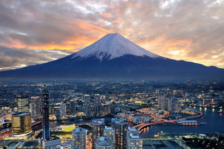 Das Wahrzeichen Japans: Der Vulkan Fuji